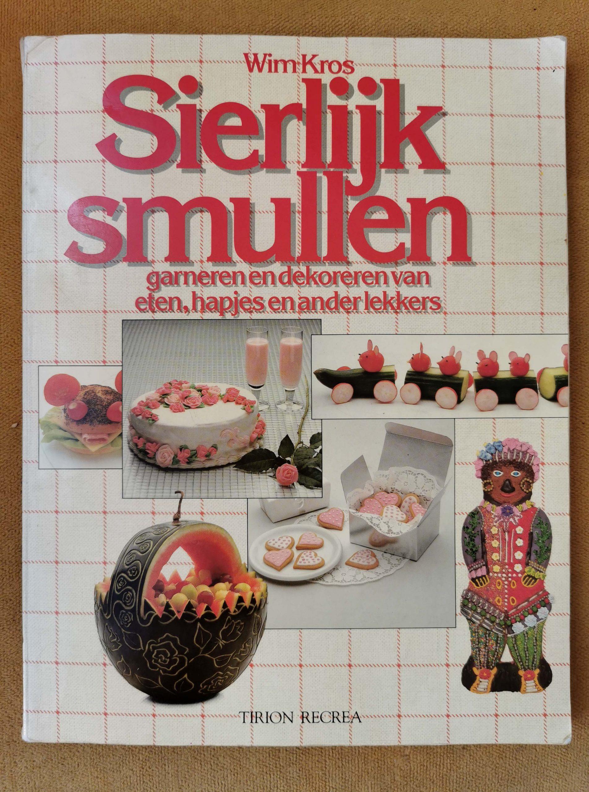cover van het boek Sierlijk Smullen