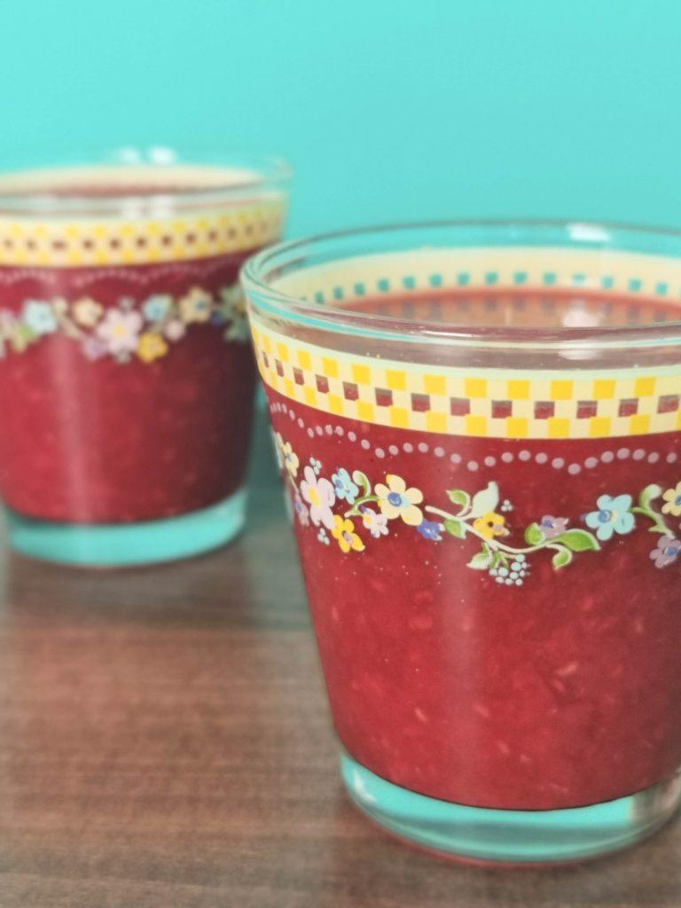 2 glazen smoothie